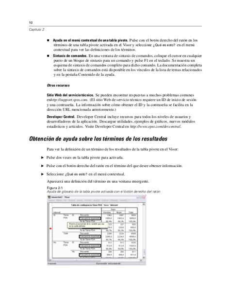 manual spss español manual spss19 en espa 227 177 ol