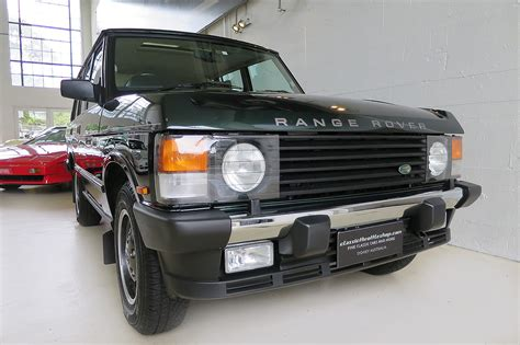 range rover classic green 1995 range rover classic ardennes green classic throttle