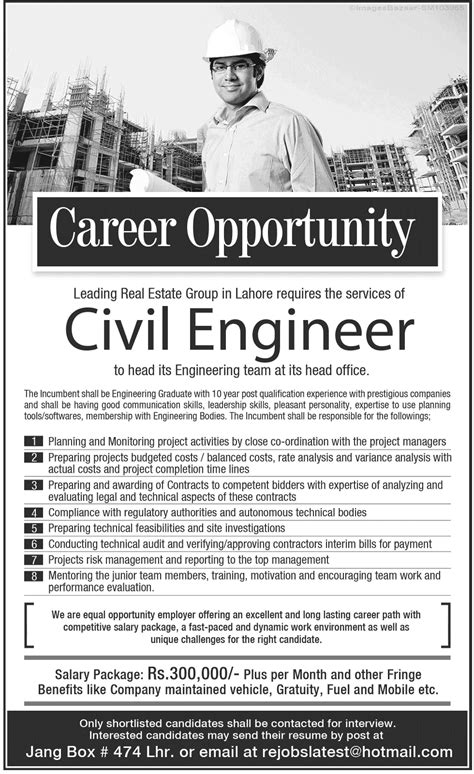 Mba Related To Civil Engineering by Civil Engineers In Lahore 2014 Current Affairs Of