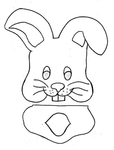 easter bunny paper bag puppet template 59 paper bag puppets guide patterns