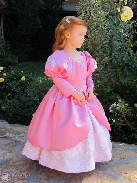 pattern for ariel s pink dress kay dee collection costumes pink ariel dinner dress