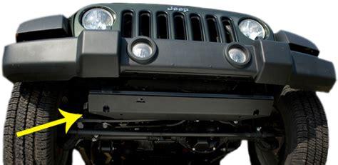 Jeep Jk Front Skid Plate Jeep Wrangler Jk Front End Skid Plate 2007 2017