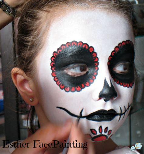 imagenes de maquillaje halloween para niños maquillaje de halloween para ni 209 os calavera mexicana