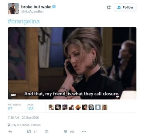 Anniston Thinks Brangelina Are Totally A Joke by Aniston Jokes Are Totally Dominating