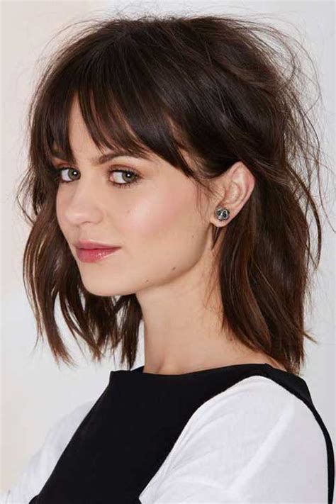 Hairstyles With Bangs by 25 New Haircuts With Bangs Hairstyles