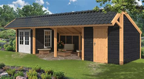 Shed Style Homes larch garden buildings tuin tuindeco blog