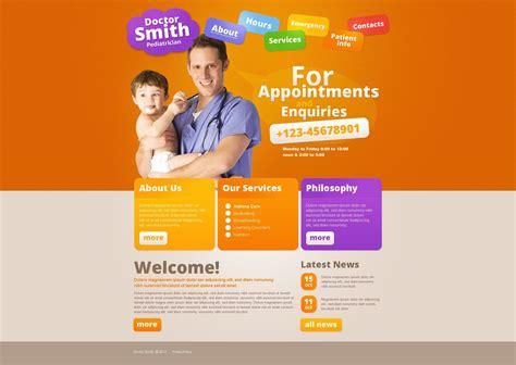Pediatrician Website Template 37098 Pediatrician Website Template
