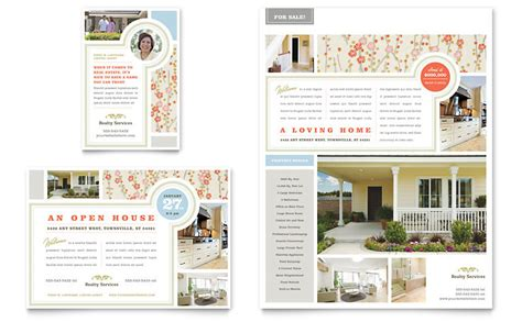 sle brochure templates real estate home for sale flyer ad template word