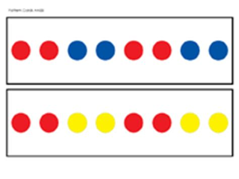Color Pattern Aabb | color pattern cards prekinders
