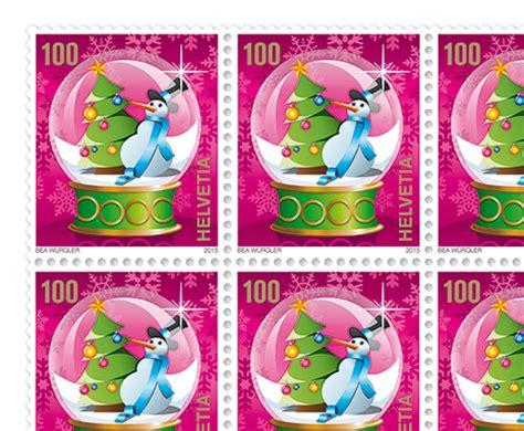 Schweiz Briefmarken 2015 Weihnachten Weihnachten 2015 171 Weihnachtsbaum 187 Postshop Ch