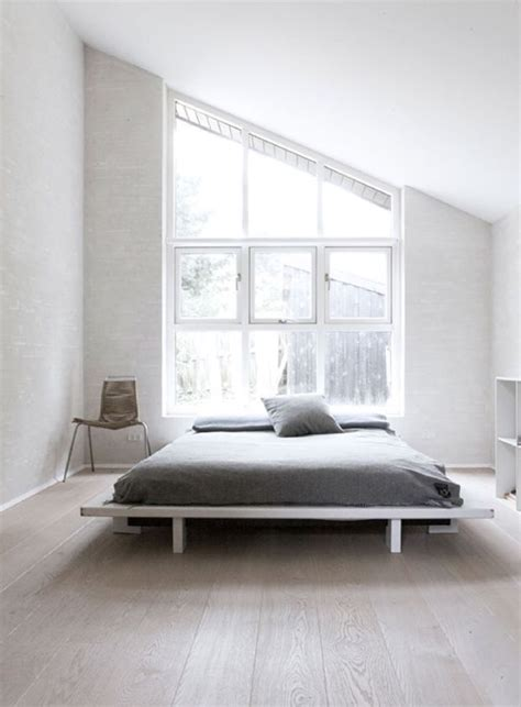 minimal bedroom minimal master bedroom big windows