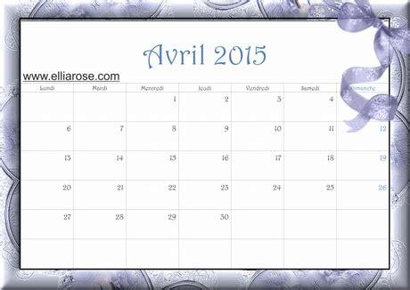Calendrier à Imprimer Juin 2015 Calendrier Gratuit 224 Imprimer Avril 2015