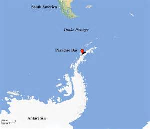 South America And Antarctica Map by Paradise Bay Antarctica
