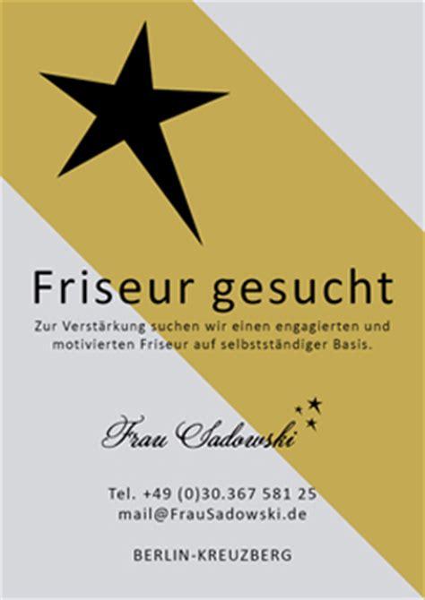 Friseurin Gesucht by Frau Sadowski Friseurmeisterin Visagistin Www