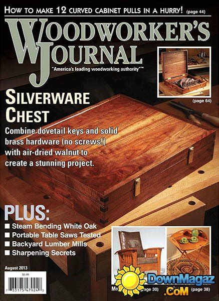 woodworker s journal magazine woodworker s journal july august 2013 187 pdf