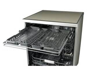 Lg Dishwasher Steam Lg Ld 1485t4 14 Place Silver Dishwasher With True