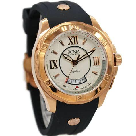 jual bonia   jam tangan pria rubber strap