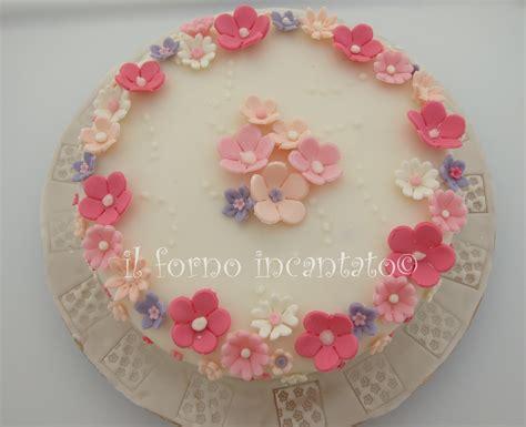 torte pasta di zucchero con fiori torta con fiori in pasta di zucchero torte decorate pdz