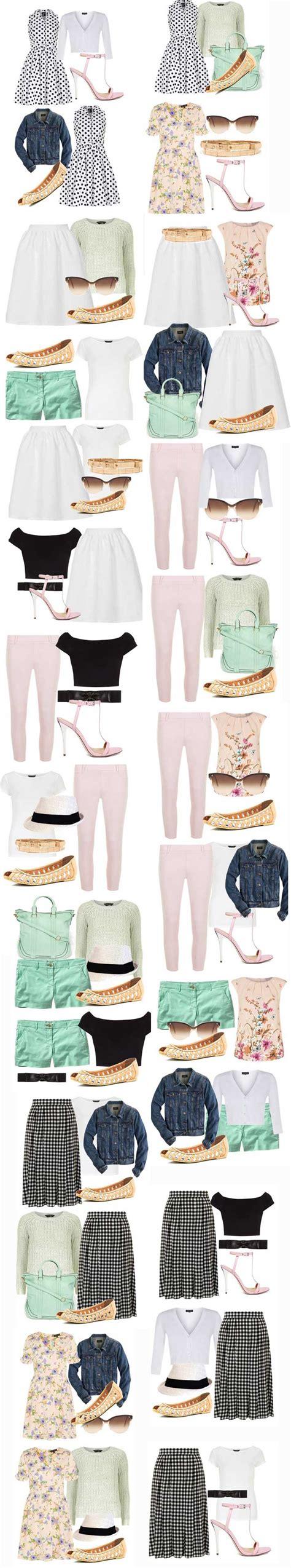 Summer Capsule Wardrobe by Summer Capsule Wardrobe Create A Capsule Wardrobe
