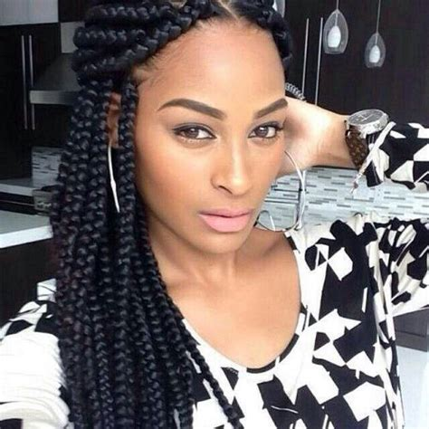 Block Braids Images | block braids hairz pinterest