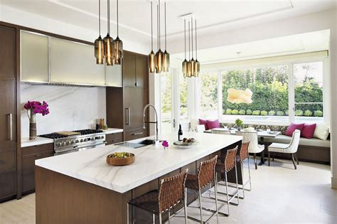 custom lighting canopy options make for a unique kitchen