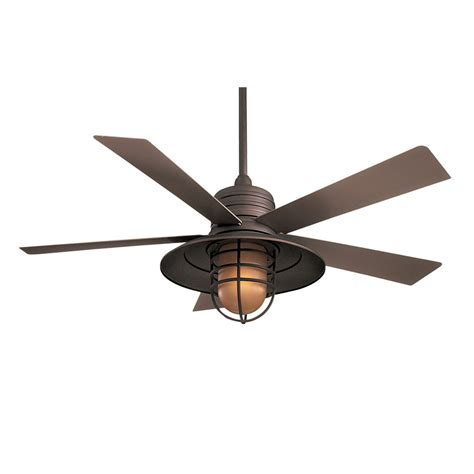 Patio Ceiling Fans With Lights 54 Quot Minka Aire Rainman Ceiling Fan Outdoor F582 Orb Modern Fan Outlet