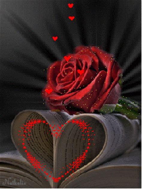 imágenes de rosas que brillen im 225 genes de corazones con frases de amor con movimiento y