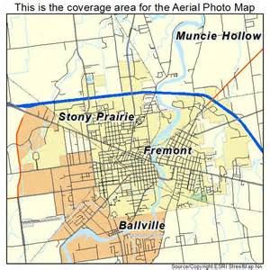 Fremont Ohio Map by Aerial Photography Map Of Fremont Oh Ohio