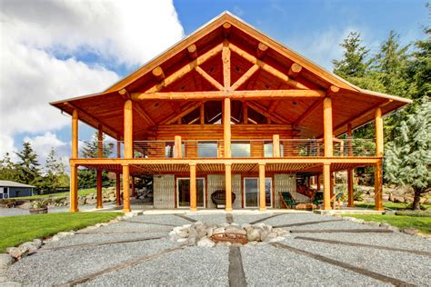 Floor Plans For Single Level Homes by 33 Stunning Log Home Designs Photographs