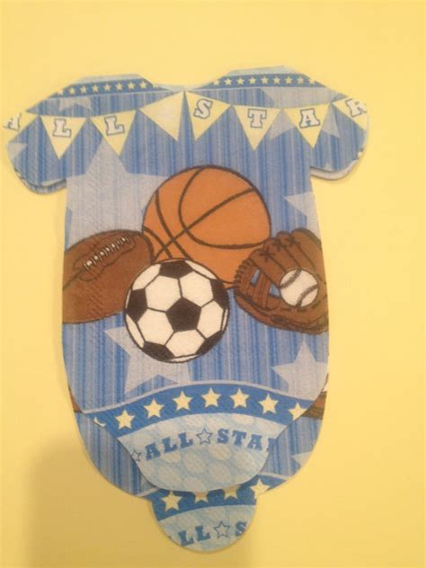 All Sports Baby Shower by Sports Baby Shower Decorations Laurensthoughts