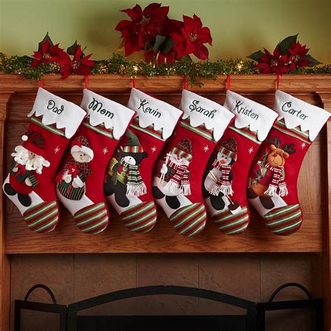 christmas stocking ideas personalized christmas stockings at personal creations