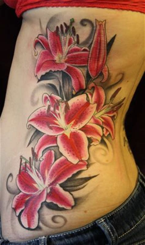 oriental lily tattoo designs 17 best ideas about stargazer tattoos on
