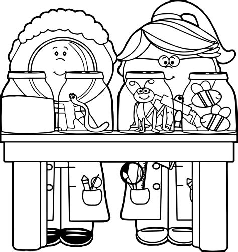 kid clipart black and white science clipart for black and white clipground