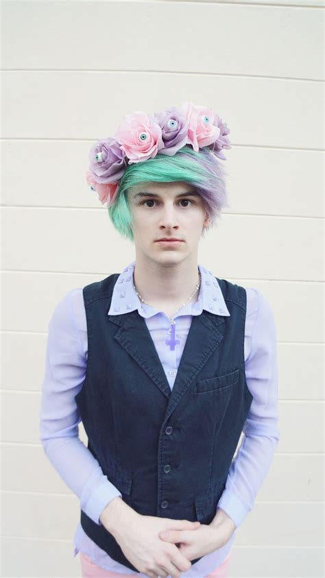 boys hair crown 435 best images about pastel goth spooky cute creepy