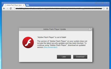 flash player for pc remove quot adobe flash player is out of date quot alert virus help guide