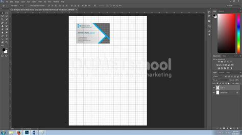 desain kartu nama dengan adobe illustrator cara memprint semua muka desain kartu nama di adobe photoshop