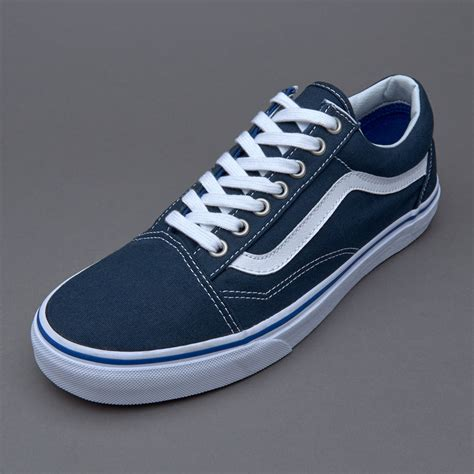 Vans Oldskool Navy Blue Premium vans skool midnight navy mens shoes vans au416