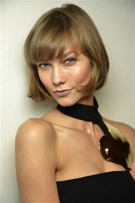 karlie kloss bob hairstyle how to style karlie kloss cried when she cut her hair
