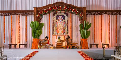 South Indian Wedding Flower Decorations by Orlando Fl Indian Wedding By Nami Dadlani Photography