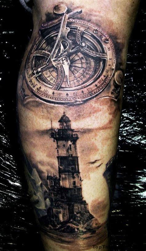 lighthouse tattoo design best 25 lighthouse tattoos ideas on