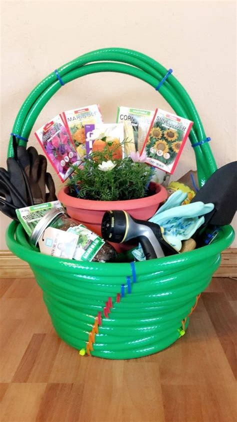 Garden Gift Basket Ideas Gardens Birthdays And Garden Markers On