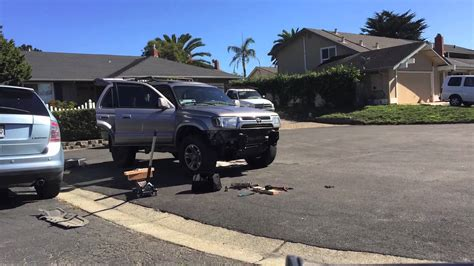 2005 Toyota 4runner Lift Kit Toyota 4runner 2002 Lift Time Lapse With Iphone 6