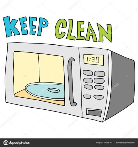 keep the microwave clean just b cause