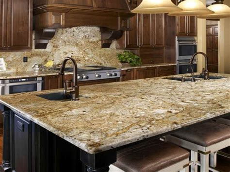 Colonial Countertop by Colonial Gold With Cabinets Search Granite