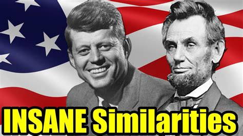 lincoln and jfk scary similarities between abraham lincoln and f