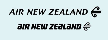 font design nz air new zealand logotype design process desktop