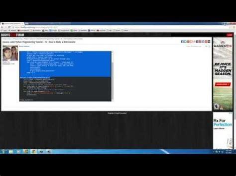 tutorial web crawler php web crawler