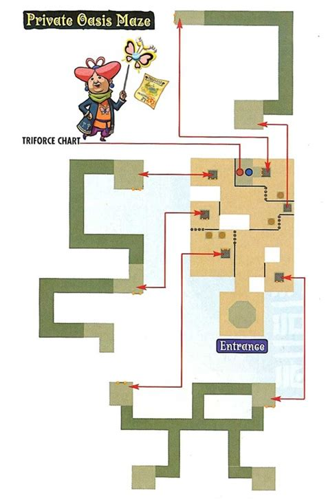 legend of zelda map maze the legend of zelda wind waker triforce chart private