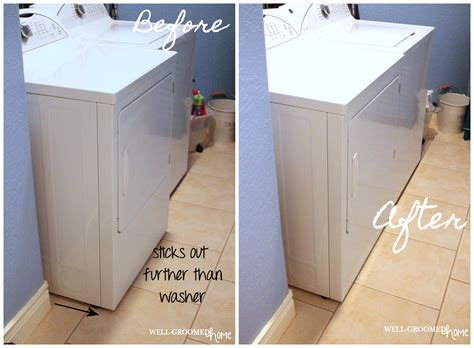 laundry ventilation design how to eliminate the space behind your dryer and get rid