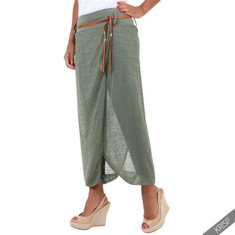 Kostum Df K 22 damen wickelhose haremshose hosenrock wickelrock pumphose aladin baggy ebay